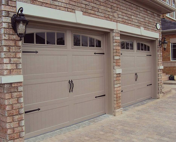 Chi Carriage House Stamped Garage Door Ancro Inc