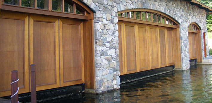 Boathouse Doors Garage Doors For Boathouses Ancro Doors