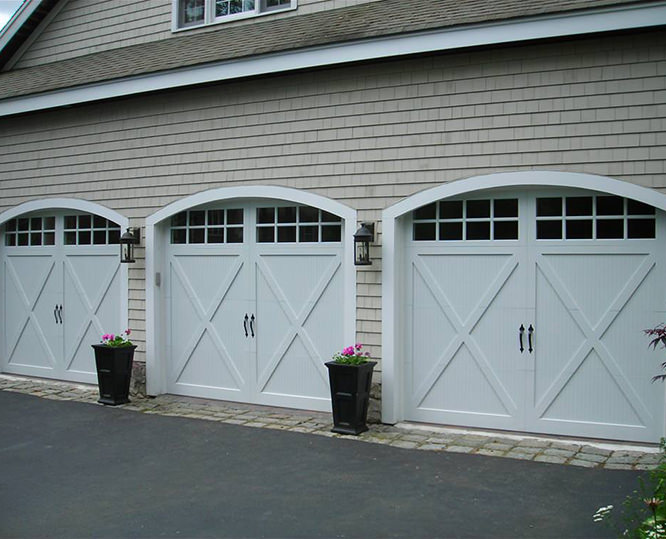 Chi Carriage House Overlay Garage Door Ancro Inc