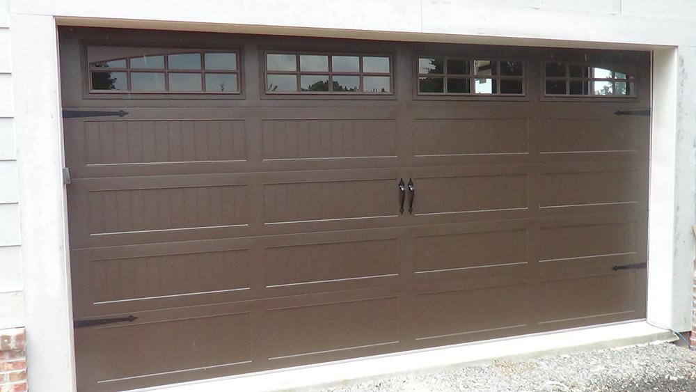 Gadsden garage doors residential and commercial ancro for Three door garage